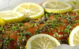 Рыба под польским соусом с картофелем