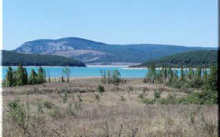 Чернореченское водохранилище (Крым)