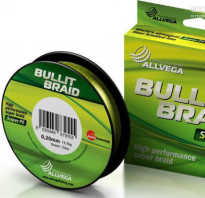 Allvega Bullit Braid – бюджетная плетенка для начинающих