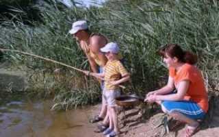 Рыбалка в Кузькино