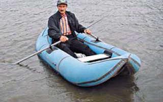 На донку с лодки